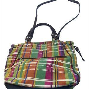 Relic colorful plaid bag